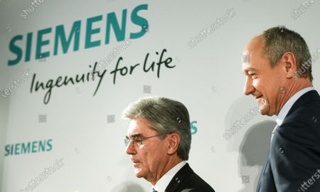 Editorial picture of Annual Shareholders' Meeting of Siemens AG in Munich, Germany - 05 Feb 2020