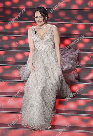Stock Picture of Romina Carrisi-Power