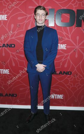 Editorial photo of 'Homeland' TV show final season premiere, Arrivals, The Museum of Modern Art, New York, USA - 04 Feb 2020