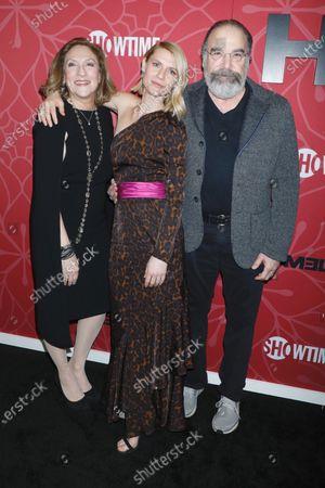 Stock Photo of Lesli Linka Glatter, Claire Danes, Mandy Patinkin