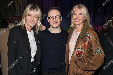 Zoe Ball, Kevin Clifton and Anneka Rice