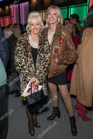 Debbie McGee and Anneka Rice