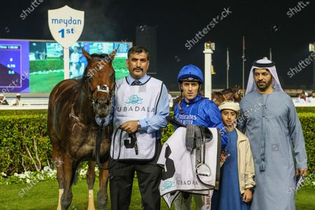 Editorial picture of DWC Carnival Meeting, Horse Racing, Meydan, Dubai, United Arab Emirates - 06 Feb 2020