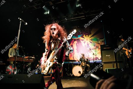 London United Kingdom - October 4: Bassist And Vocalist Glenn Hughes Performing Live On Stage At The Electric Ballroom In London On October 15