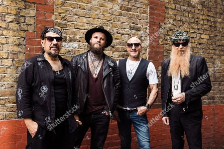 Stock Picture of Fabrizio Grossi Kris Barras Kenny Aronoff Billy Gibbons