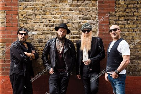 Editorial picture of Supersonic Blues Machine Portrait Shoot, London - 4 Jul 2018