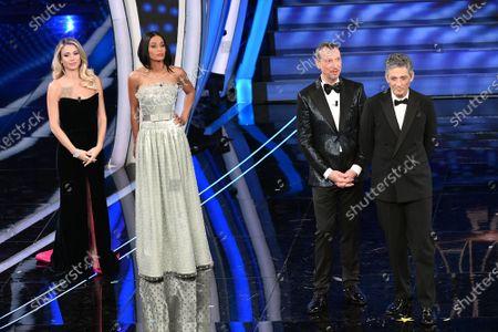 Diletta Leotta, Rula Jebreal, tv presenter Amadeus, Fiorello