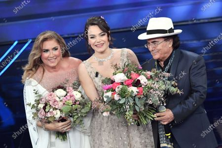 Stock Image of Romina Power, daughter Romina Carrisi, Al Bano