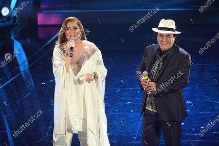 Stock Picture of Romina Power, Al Bano Al Bano