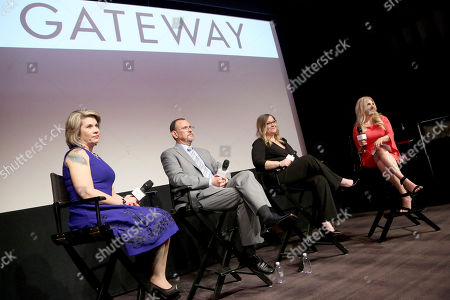 Jennifer Weiss-Burke, Dr. Richard Chudacoff, Jen Wysong, Dana Richie. From left, Jennifer Weiss-Burke, Dr. Richard Chudacoff, Jen Wysong and Dana Richie at the LA screening of the documentary GATEWAY, a film about three families inadvertently impacted by opioid addiction following surgery on Tues., in Los Angeles