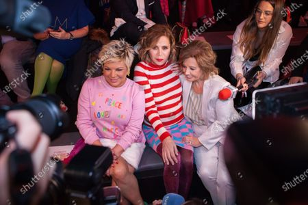 Editorial image of Agatha Ruiz de la Prada show, Front Row, Mercedes-Benz Fashion Week, Madrid, Spain - 29 Jan 2020