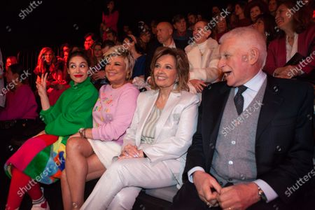 Editorial photo of Agatha Ruiz de la Prada show, Front Row, Mercedes-Benz Fashion Week, Madrid, Spain - 29 Jan 2020