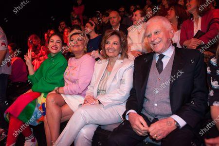 Editorial photo of Agatha Ruiz de la Prada show, Front Row, Mercedes-Benz Fashion Week, Madrid, Spain - 29 Jan 2020