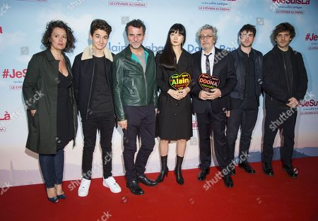 Editorial photo of 'Je Suis La' film premiere, Paris, France - 04 Feb 2020
