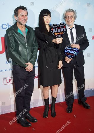 Editorial image of 'Je Suis La' film premiere, Paris, France - 04 Feb 2020
