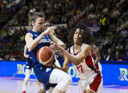 Editorial picture of USA v Serbia, FIBA Women's Olympic Qualifying Tournament, Basketball, Stark Arena, Belgrade - 06 Feb 2020