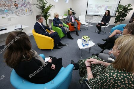 Editorial photo of Camilla Duchess of Cornwall visit to Barnardo's Child and Sexual Abuse and Exploitation Services, London, UK - 05 Feb 2020