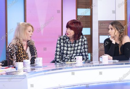 Denise Fergus, Janet Street-Porter and Stacey Solomon