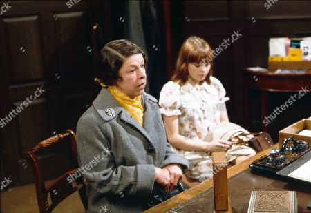 Jessie Evans (as Granny Hopkins) and Kathy Jones (as Tricia Hopkins)