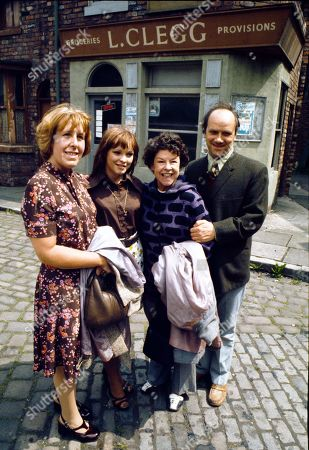 Editorial image of 'Coronation Street' TV Show - 1975