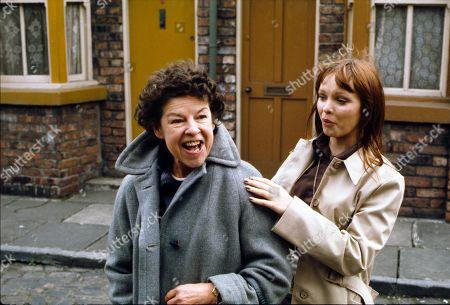 Editorial photo of 'Coronation Street' TV Show - 1975
