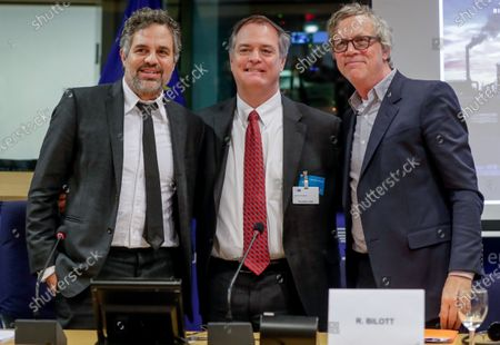 Editorial photo of US actor Mark Ruffalo campaigns for 'Forever Chemicals NO MORE!', Brussels, Belgium - 05 Feb 2020