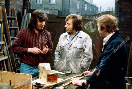Neville Buswell (as Ray Langton), Kenneth Farrington (as Billy Walker) and Graham Haberfield (as Jerry Booth)