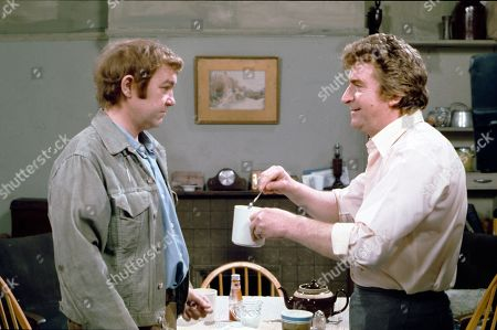 Graham Haberfield (as Jerry Booth) and Peter Adamson (as Len Fairclough)