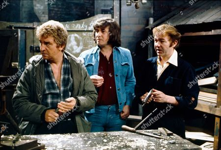 Peter Adamson (as Len Fairclough), Neville Buswell (as Ray Langton) and Graham Haberfield (as Jerry Booth)