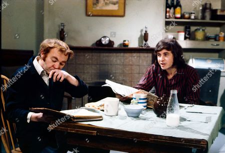 Graham Haberfield (as Jerry Booth) and Neville Buswell (as Ray Langton)