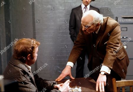 Suspicion falls on Len Fairclough after he tries to help an abused housewife who is later found dead in his house. Graham Haberfield (as Jerry Booth) and Tony Steedman (as Det. Chief Inspector Patterson)