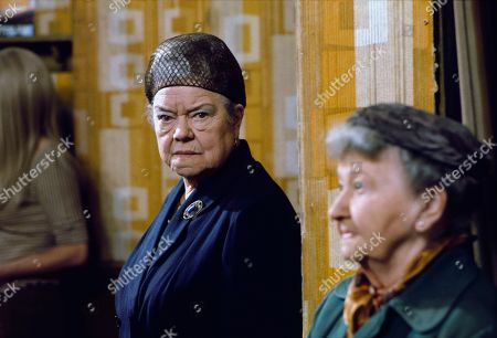 Stock Photo of Violet Carson (as Ena Sharples) and Margot Bryant (as Minnie Caldwell)
