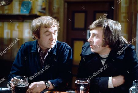 Stock Picture of Graham Haberfield (as Jerry Booth) and Kenneth Farrington (as Billy Walker)