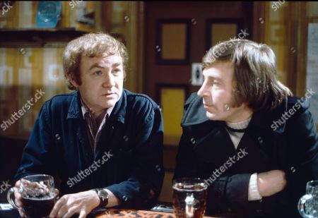 Graham Haberfield (as Jerry Booth) and Kenneth Farrington (as Billy Walker)
