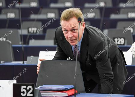 Vice president of the German Parliament of the Social Democratic Party (SPD) Thomas Oppermann attends the session of the Franco-German Parliamentary Assembly at the European Parliament in Strasbourg, France, 05 February 2020. The 'mini parliament' with German and French MPs created in 2019 will debate security and defense policy, among other things, at its two-day session.