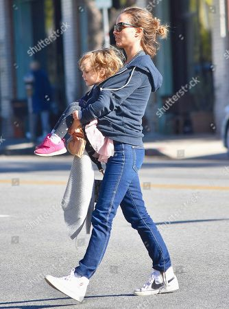 Editorial image of Natalie Portman out and about, Los Angeles, USA - 04 Feb 2020