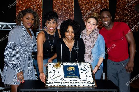 Editorial picture of 'Tina' cast celebrates 100 Performances on Broadway, New York, USA - 04 Feb 2020