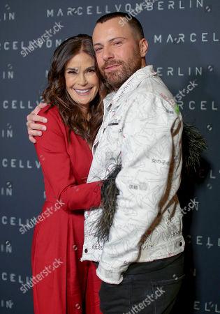 Teri Hatcher and Marcell Von Berlin
