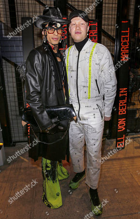 Editorial picture of MARCELL VON BERLIN store opening, Los Angeles, USA - 04 Feb 2020