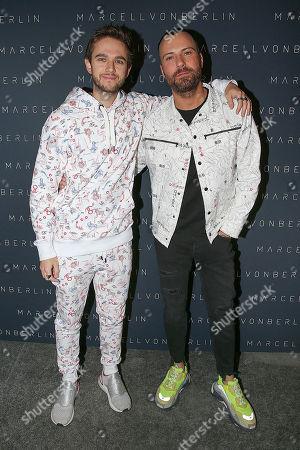 DJ Zedd and Marcell Von Berlin