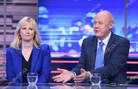 Editorial image of 'Peston' TV show, Series 4, Episode 4, London, UK - 05 Feb 2020