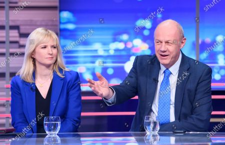 Damian Green and Rosie Duffield
