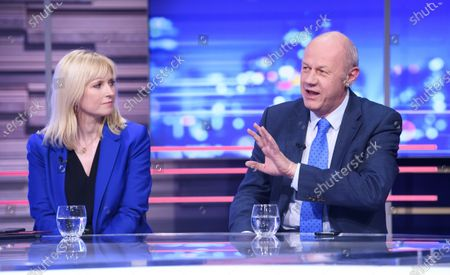 Rosie Duffield MP and Damian Green