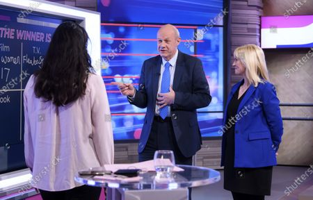 Stock Photo of Rosie Duffield MP and Damian Green
