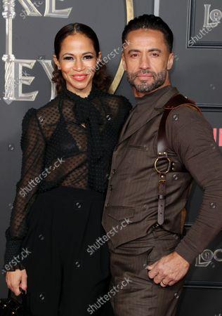 Stock Photo of Sherri Saum and Kamar de los Reyes