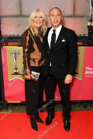 Gaby Roslin and Rob Rinder