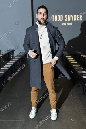 Editorial picture of Todd Snyder show, Front Row, Fall Winter 2020, New York Fashion Week Men's, USA - 05 Feb 2020
