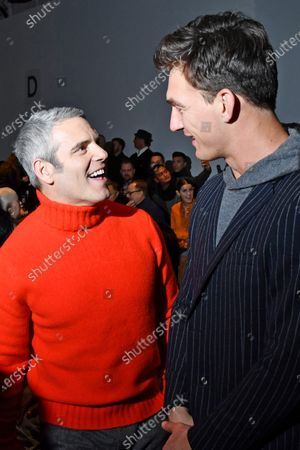 Andy Cohen and Tyler Cameron