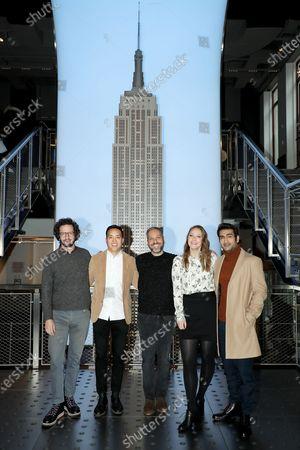 Lee Eisenberg, Alan Yang, Joshuah Bearman, Emily V. Gordon, Kumail Nanjiani