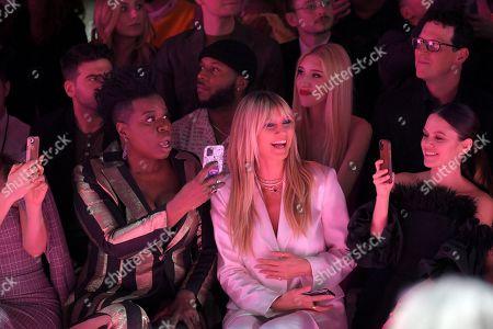 Editorial photo of Christian Siriano show, Front Row, Fall Winter 2020, New York Fashion Week, USA - 06 Feb 2020